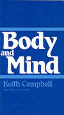 Body and Mind 9780268006730