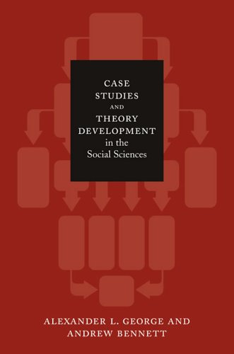 Case Studies and Theory Development in the Social Sciences 9780262572224