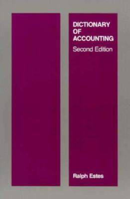Dictionary of Accounting, 2nd Edition 9780262550116