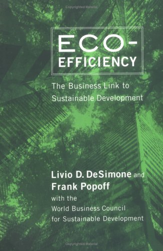 Eco-Efficiency: The Business Link to Sustainable Development 9780262541091