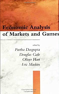Economic Analysis of Markets and Games: Essays in Honor of Frank Hahn 9780262041270