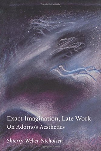 Exact Imagination, Late Work: On Adorno's Aesthetics 9780262640404