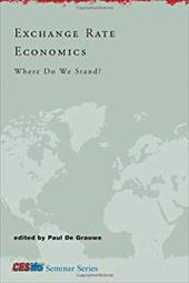 Exchange Rate Economics: Where Do We Stand? 794336