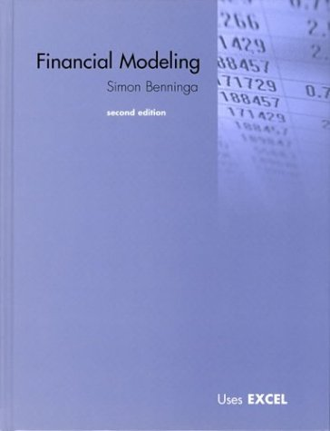 Financial Modeling [With Book with CDROM] 9780262024822