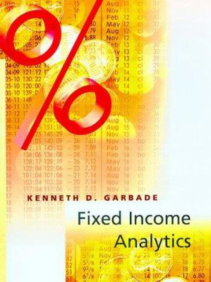Fixed Income Analytics 9780262071765