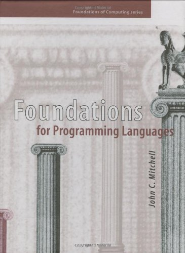 Foundations for Programming Languages 9780262133210