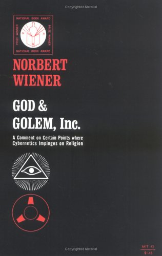 God and Golem Inc 9780262730112