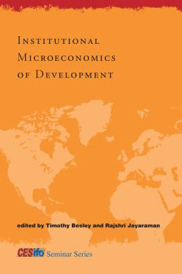 Institutional Microeconomics of Development 9780262014069