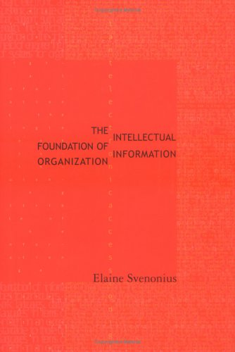 Intellectual Foundation of Information Organization 9780262194334