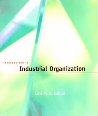 Introduction to Industrial Organization 9780262032865