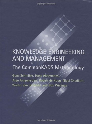 Knowledge Engineering and Management: The Commonkads Methodology 9780262193009
