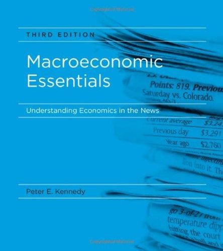 Macroeconomic Essentials: Understanding Economics in the News 9780262014670