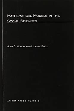 Mathematical Models in Social Sciences 9780262610308