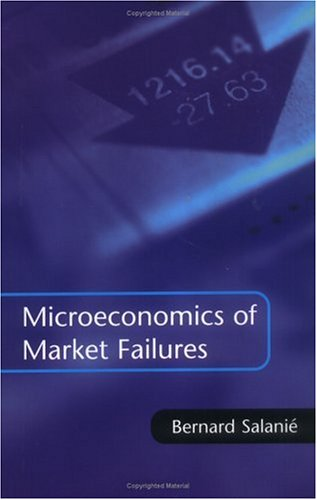 Microeconomics of Market Failures 9780262194433