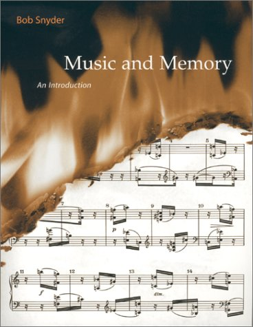 Music and Memory: An Introduction 9780262692373