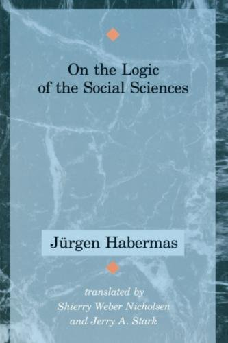 On the Logic of the Social Sciences 9780262581042