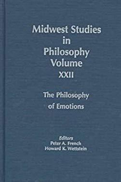 Philosophy of Emotions 9780268014438