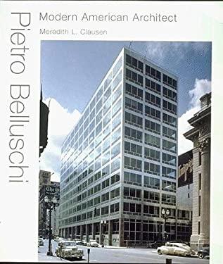 Pietro Belluschi: Modern American Architect 9780262032209
