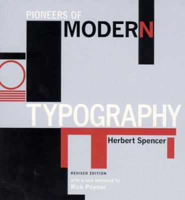 Pioneers of Modern Typography 9780262693035