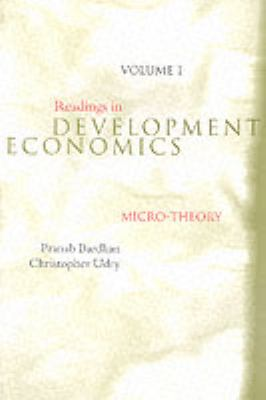 Readings in Development Economics - Vol. 1: Micro-Theory 9780262522823