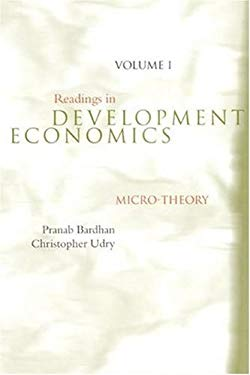 Readings in Development Economics: Micro-Theory 9780262024846