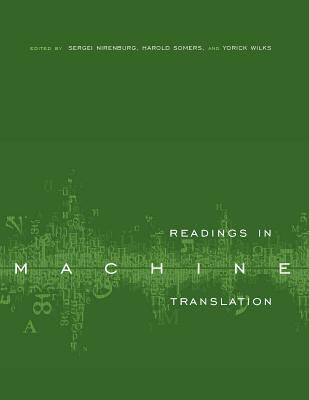 Readings in Machine Translation 9780262140744