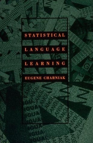 Statistical Language Learning 9780262531412