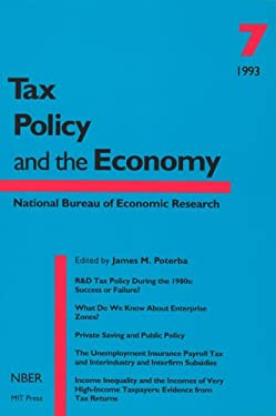 Tax Policy and the Economy, Volume 7 9780262660815