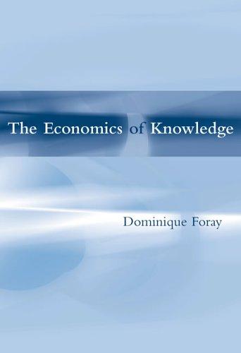 The Economics of Knowledge 9780262562232