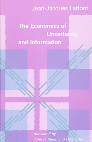 The Economics of Uncertainty and Information 9780262121361