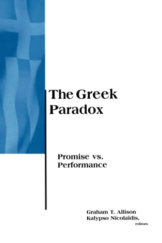 The Greek Paradox: Promise vs. Performance 9780262510929