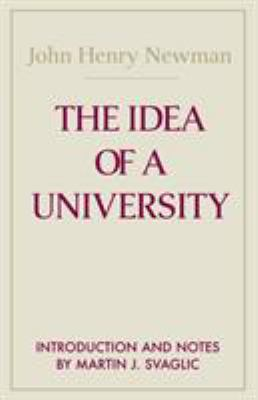 The Idea of a University 9780268011505