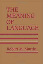 Meaning of Language