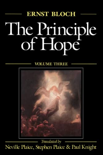The Principle of Hope 9780262522014