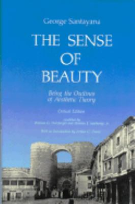 The Sense of Beauty: Critical Edition 9780262192712