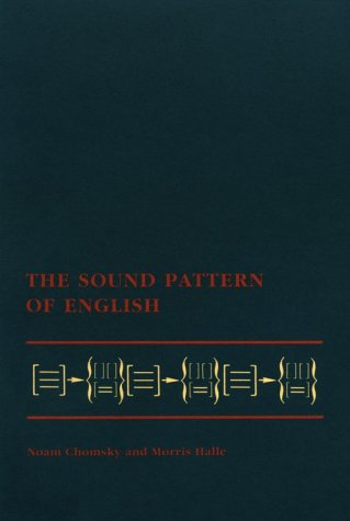 The Sound Pattern of English 9780262530972