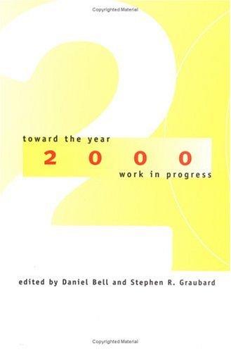 Toward the Year 2000: Work in Progress 9780262522373