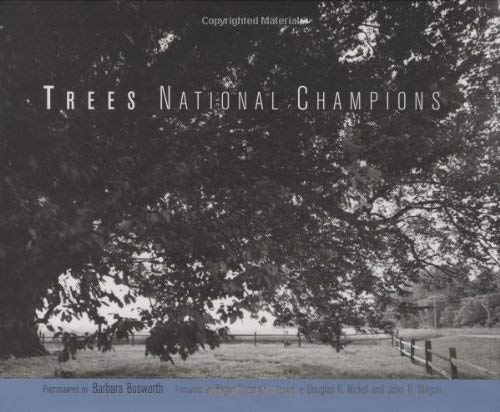 Trees: National Champions 9780262025928