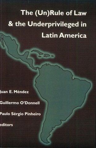 Unrule of Law Latin America 9780268043025