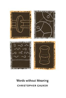 Words Without Meaning 9780262571623