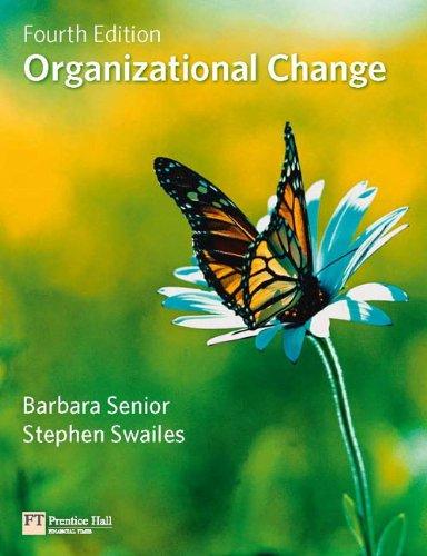 Organizational Change 9780273716204