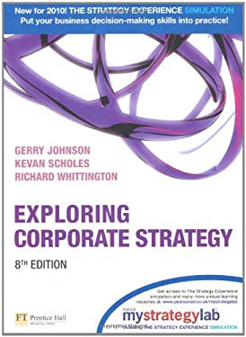Exploring Corporate Strategy with Mystrategylab 9780273731559