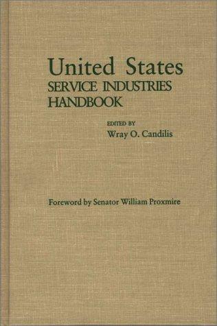 United States Service Industries Handbook 9780275923679