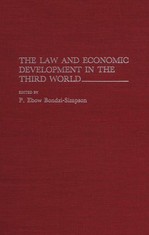 The Law and Economic Development in the Third World 9780275939250