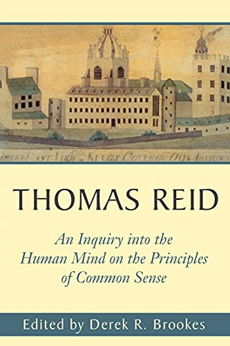 An Inquiry Into the Human Mind: On the Principles of Common Sense 9780271020716