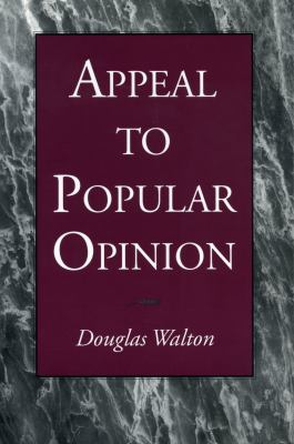 Appeal to Popular Opinion - Ppr. 9780271018195