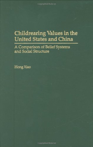 Childrearing Values in the United States and China: A Comparison of Belief Systems and Social Structure 9780275973131