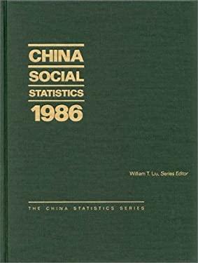 China Social Statistics 1986 9780275932732