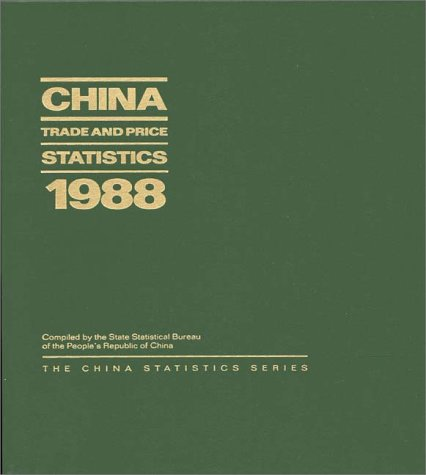 China Trade and Price Statistics 1988 9780275933425