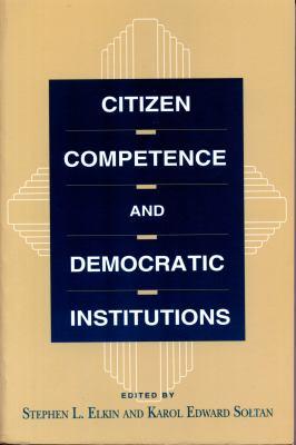Citizen Competence - CL. 9780271018164